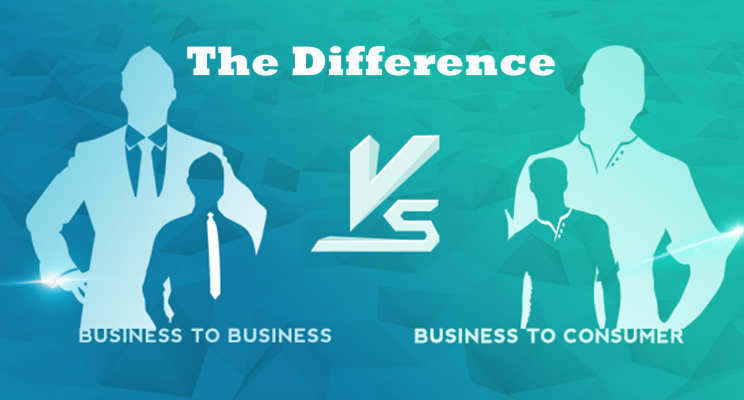 difference between b2b and b2c digital marketing