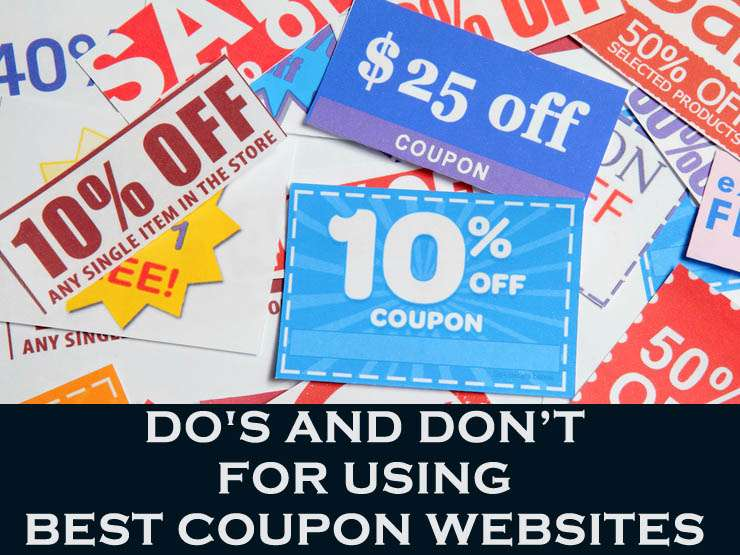 Do's and Dont's For Using Best Coupon Websites