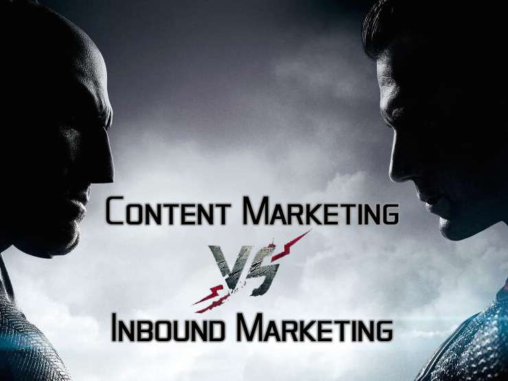 Content Marketing and Inbound Marketing: Know The Differences